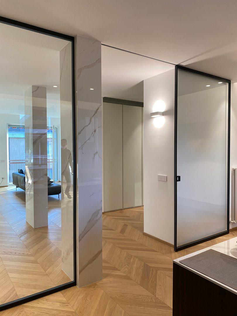 Specchio camera su misura